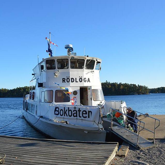 Évente kétszer fut ki a svéd könyvtárhajó